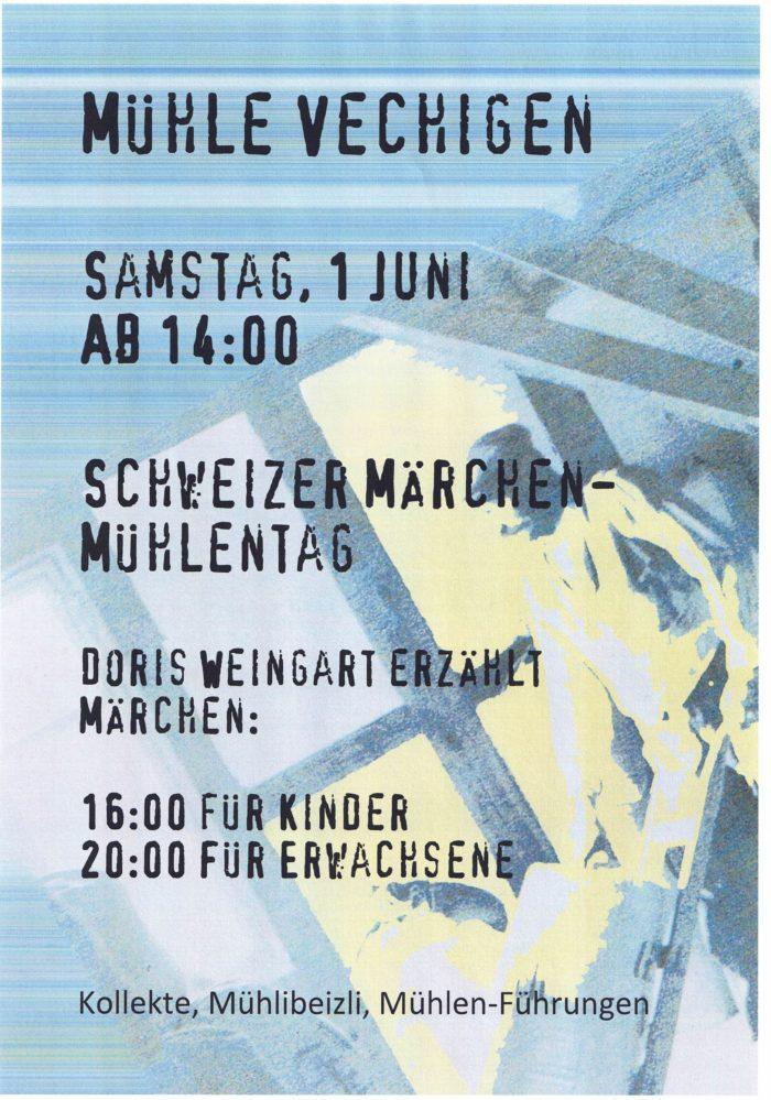 Flyer Foto Mühli Vechigen
