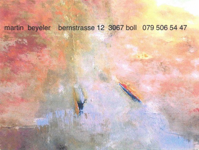 Martin Beyeler 2 Mühli Vechigen